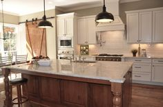 bianco romano granite countertop | All Countertops in the Miracle Home were provided by CityRock by ...