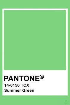 Pantone Colour Palettes, Pantone Color, Colour Schemes, Color Trends, Pantone Tcx, Pantone Green, Tru Colors, Color Of The Day, Spring Bouquet