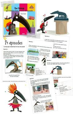 Cycle 2 - (page - Validées Read In French, French Class, Learn French, Core French, Wolf, French Language Lessons, Reading Stories, French Resources, Learning To Write