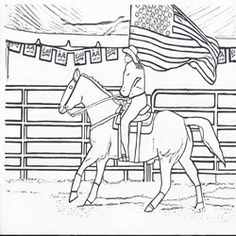 mutton buster rodeo coloring page free printable free