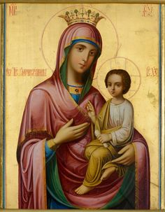 """Panagia Gorgoepikoos (""""She who is quick to hear"""") Byzantine Icons, Byzantine Art, Religious Images, Religious Art, Church Icon, Holy Mary, Blessed Virgin Mary, Guardian Angels, Orthodox Icons"""