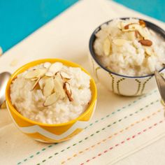 Almond Coconut Rice Pudding