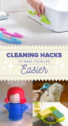 '30 Cleaning Tips That'll Make Your Life So Much Easier...!' (via BuzzFeed)