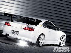 nissan sylvia | 1999 Nissan Silvia S15 Spec R Rear Right View