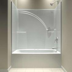 Ordinaire One Piece Bathtub Shower Unit