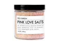 PINK LOVE SALTS amorous detox blend by FIGandYARROW