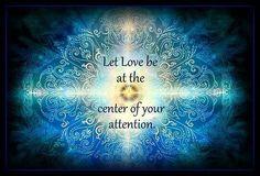 Let Love...