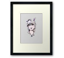 Framed print  Silent cinema star - Lillian GISH by Manana11