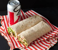 Packed Lunch: Turkey, Bacon, and Avocado Wrap | Can You Stay For Dinner?