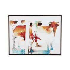 French Cow Print  | Crate and Barrel