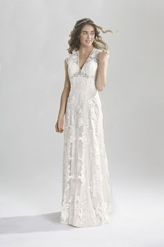 Browse beautiful Lillian West wedding dresses and find the perfect gown to suit your bridal style. Sweet Wedding Dresses, Vintage Inspired Wedding Dresses, Stunning Wedding Dresses, Lovely Dresses, Boho Wedding Dress, Prom Dresses, Lace Wedding, Purple Wedding, Lillian West
