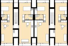Boliger for vanskeligstilte trenger gjennomtenkte løsninger Floor Plans, Diagram, Architecture, Arquitetura, Architecture Design, Floor Plan Drawing, House Floor Plans