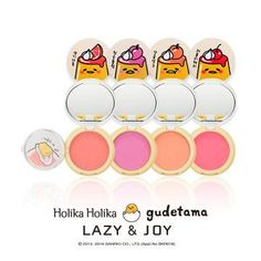 [HOLICA HOLICA] Gudetama Jelly Dough Blusher Size: 6g How to use Apply contents on puff and tap on cheek. Due to nature of jelly texture, it could be leaned to one side or have bubble on surface. But