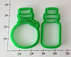 Potion Bottles cookie cutters by WarpZone on Etsy, $9.00  Could also be poison bottles. :)