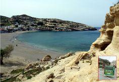 Wanderung 29: Von Mátala zum Kommós-Strand und nach Pitsidia
