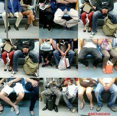 Uso del espacio público y machismo: ¿cómo se sientan los hombres en el Metro? Gender, Freedom, Tower Of Babel, Stories For Children, Patriarchy, Being A Woman, Feminism, Advertising, Culture