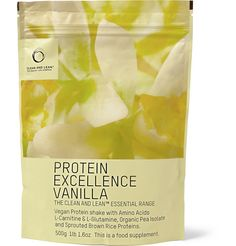 Bodyism's Clean and Lean - Vegan Protein Excellence Vanilla Shake.  Packed with clean protein and amino acids, this vegan shake is designed to help your body repair and create lean muscle more effectively with its careful balance of ingredients. Vegan and free from whey, gluten, added sugars, soy, artificial flavours, colours and preservatives, it is delicious and naturally pre-biotic. Taken as part of a balanced diet, the formula can help boost metabolism and assist appetite control.