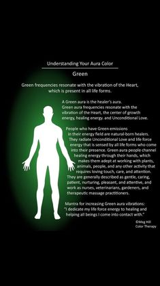 Green Aura Meaning, Aura Colors Meaning, Chakra Meditation, Chakra Healing, Meditation Music, Aura Reading, Psychic Development, Personal Development, Color Meanings