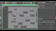 How to move thinking particles around the scene using a spline as a guide and path in Cinema 4D.