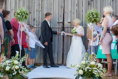 """The Wedding barn, so simple and magical!"""