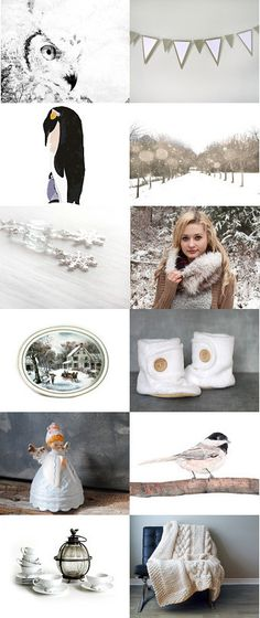 winter white by Dianne on Etsy--Pinned with TreasuryPin.com
