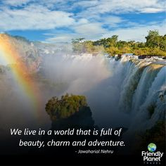 Join Friendly Planet on a South American tour package south of the equator. Find the perfect vacation tour that is right for you at a discount price today. American Tours, Victoria Falls, Vacation Packages, Niagara Falls, South America, Travel Inspiration, Africa, Adventure, Motivation
