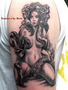 I think this is going to be my Medusa tat!