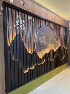 Wall Panel Design, Partition Design, Wall Decor Design, Ceiling Design, Door Design, Home Room Design, Home Interior Design, Living Room Designs, Interior Decorating