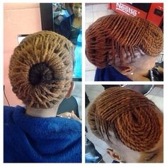 Natural Hair Locs Updo