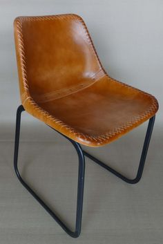 Leather Butterfly Chair Industrial Loft Modern Furniture Factory