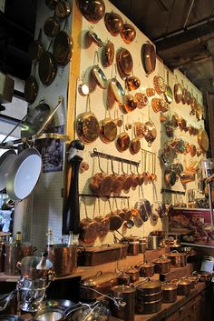 COPPER HEAVEN!!!  E. DEHILLERIN — Expert in kitchen and pastry tools and cookware...