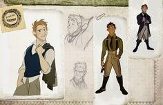 "(Old) Animation Development Art for ""Wicked"" by Disney Artist Minkyu Lee Character Design Cartoon, Character Design References, Character Design Inspiration, Wicked Musical, Character Concept, Character Art, Character Sheet, Estilo Disney, Disney Artists"