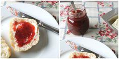 pruimenjam met granaatappelsiroop, plum jam with pomegranate syrup