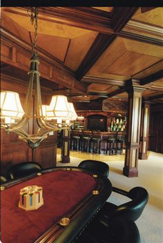 Poker room. And... a bar that would hardly get used, lol!