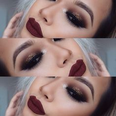 makeup lips diy love Arantza beauty lipstick tip lipliner maquilaje love diy belleza lipstick eyeliner eyebrows eyeshadow mascara fall autumn Makeup Goals, Makeup Inspo, Makeup Inspiration, Makeup Tips, Makeup Ideas, Makeup Style, Makeup Geek, Gold Makeup, Skin Makeup