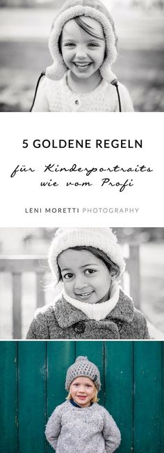 5 golden rules for timeless children& portraits as seen by the professional - Kinderfotografie & Babyfotografie Berlin Photography Courses, Photography Workshops, Digital Photography, Children Photography, Family Photography, Photography Tips, Portrait Photography, Photography Backdrops, Photo Shoot Tips