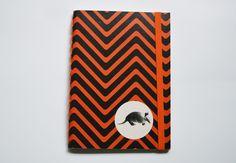 Caderno tamanho A6, Coleção Pindorama. <br>