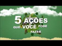 5 ações que você pode fazer - Educação Ambiental
