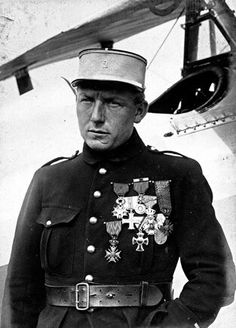 French ace of the WW1, Charles Nungesser