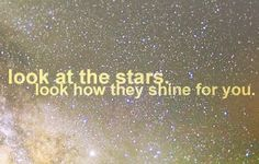 Stars quote via Carol's Country Sunshine on Facebook