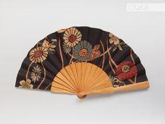 Japanese flowers Fan by Olele on Etsy Japanese Flowers, Japanese Art, Hand Held Fan, Hand Fans, Wooden Staff, Fan Decoration, Teacher Favorite Things, Oriental Fashion, African Fabric