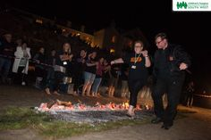 Gently does it! Our brave firewalkers walked on hot coals on Marazion Beach under a beautiful full moon.  Find out more about how you can take part in our events by visiting our website >>  www.chsw.org.uk/fundraising-events #chsw #firewalk #charity #childrenshospice #marazion
