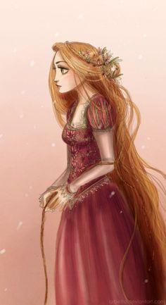 Rapunzel.... artist: Arbetta