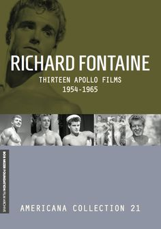RICHARD FONTAINE: Thirteen Apollo Films 1954-1965 Film Archive, Films, Movies, Apollo, Foundation, Movie Posters, Film Poster, Cinema, Cinema