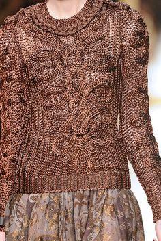 Salvatore Ferragamo Autumn (Fall)/Winter 2012 runway show at Milan fashion week