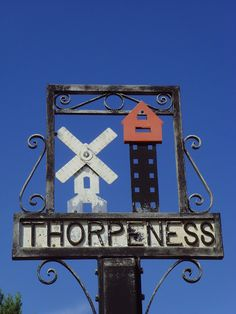 Thorpeness Village Sign, Suffolk Essex England, England Ireland, England Uk, Suffolk Coast, Old Pub, English Village, My Kind Of Town, Decorative Signs, In Ancient Times
