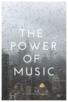 How is the music powerful to me? Click to find out!