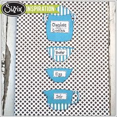 Sizzix Inspiration | Baking Canvas by Stefani Khan