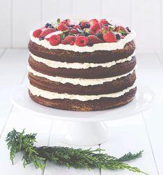 naked cake - Cakemania, dolci e cake design Drop Cake, Cupcake, Birthday Chocolates, Daily Meals, Tiramisu, Fondant, Birthday Cake, Birthday Ideas, Food And Drink