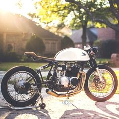 lemoncustommotorcycles: 1971 CB500 by kinetic_motorcycles http://ift.tt/1xevTUq